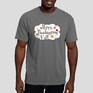thanks yall Mens Comfort Colors Shirt