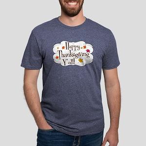 thanks yall Mens Tri-blend T-Shirt