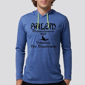 Salem Fire Dpt. Mens Hooded Shirt
