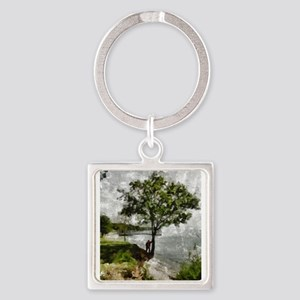 Standing Tall Firmly Rooted Keychains