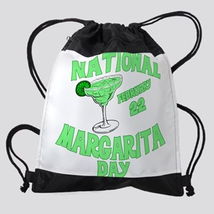margarita day Drawstring Bag