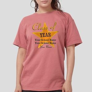 Custom Graduation Womens Comfort Colors Shirt