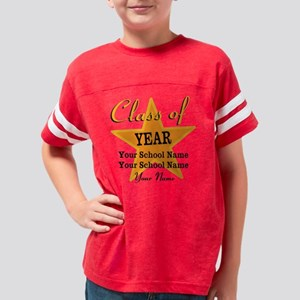 Custom Graduation Youth Football Shirt