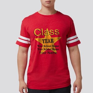 Custom Graduation Mens Football Shirt