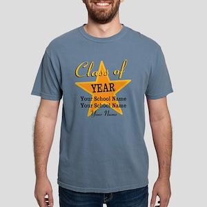 Custom Graduation Mens Comfort Colors Shirt