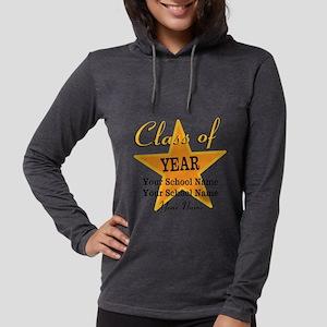 Custom Graduation Womens Hooded Shirt