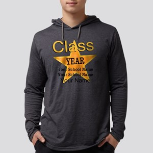 Custom Graduation Mens Hooded Shirt