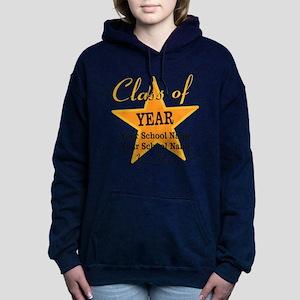 Custom Graduation Women's Hooded Sweatshirt