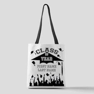 Graduation Polyester Tote Bag