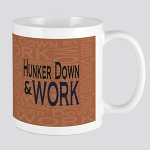 Hunker Down Work tan Mug