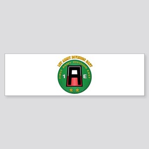 SSI - First Army Division East with Text Sticker (