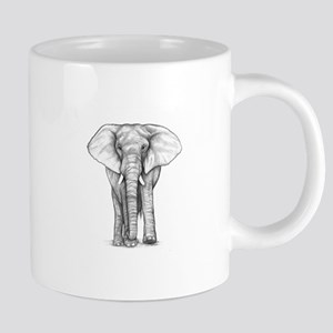 Elephant art 20 oz Ceramic Mega Mug