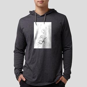 Dandelion Art Mens Hooded Shirt