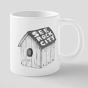 See Rock City 20 oz Ceramic Mega Mug