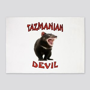 TAZMANIAN DEVIL 5'x7'Area Rug