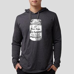 Custom Moonshine Mens Hooded Shirt