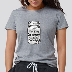 Custom Moonshine Womens Tri-blend T-Shirt