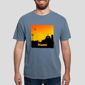 Sunrise at the Farm Mens Comfort Colors Shirt