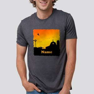 Sunrise at the Farm Mens Tri-blend T-Shirt