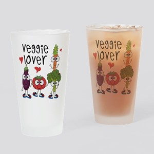 Veggie Lover Drinking Glass