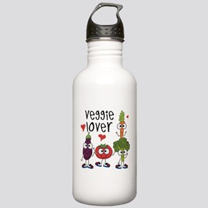 Veggie Lover Stainless Water Bottle 1.0L