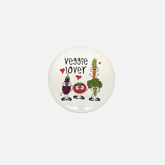 Veggie Lover Mini Button