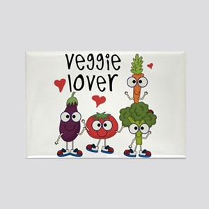 Veggie Lover Rectangle Magnet