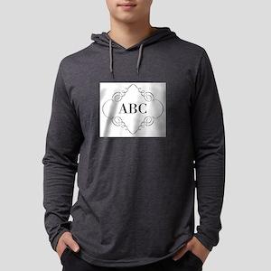 Vintage Monogram Mens Hooded Shirt