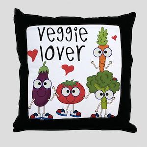 Veggie Lover Throw Pillow