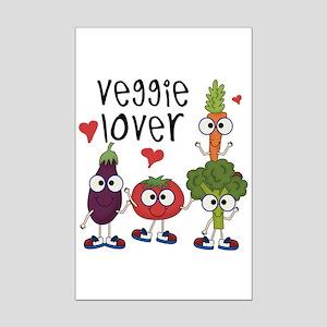 Veggie Lover Mini Poster Print