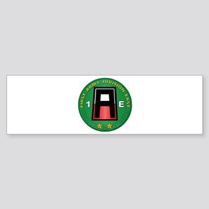 SSI - 1st Army Division East with Text Sticker (Bu