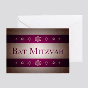 bat mitzvah Greeting Cards