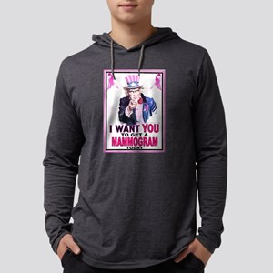 Unclesamwantyou PINK Mens Hooded Shirt