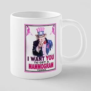 Unclesamwantyou PINK 20 oz Ceramic Mega Mug