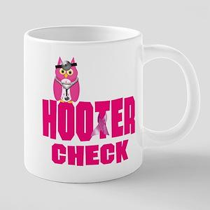 hooter CHECK 20 oz Ceramic Mega Mug