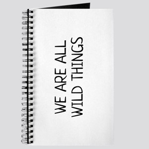 we are all wild things Journal