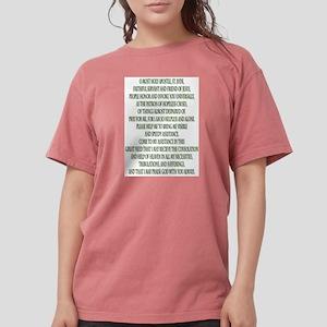 Prayer to Saint Jude Womens Comfort Colors Shirt