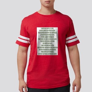 Prayer to Saint Jude Mens Football Shirt