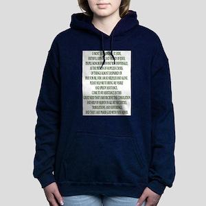 Prayer to Saint Jude Women's Hooded Sweatshirt