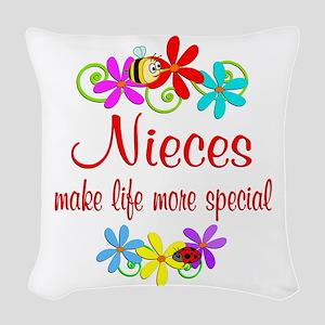 Special Niece Woven Throw Pillow