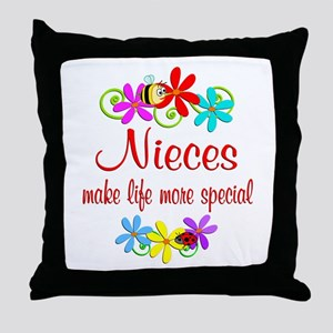 Special Niece Throw Pillow