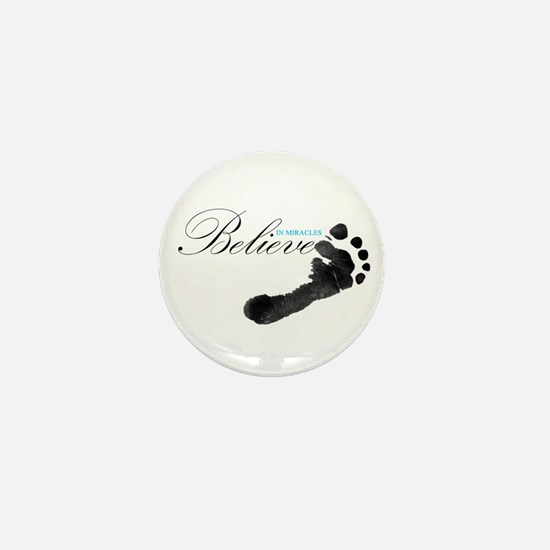 Believe in Miracles Mini Button