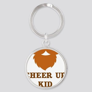 CHEER UP Round Keychain