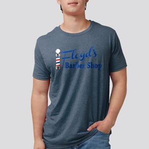 Floyds Barbershop Mens Tri-blend T-Shirt