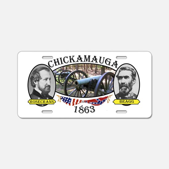 Chickamauga Aluminum License Plate