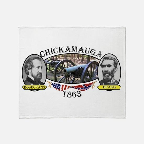 Chickamauga Throw Blanket