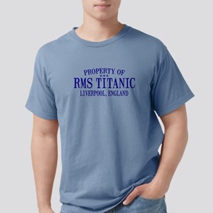 TITANIC PROPERTY Mens Comfort Colors Shirt