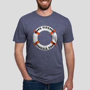 TITANIC Mens Tri-blend T-Shirt