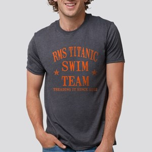 TITANIC SWIM TEAM Mens Tri-blend T-Shirt