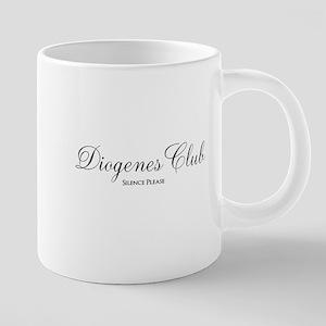 Diogenes Club 20 oz Ceramic Mega Mug